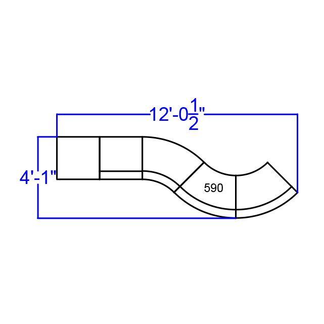 alon modern reception set dimensions
