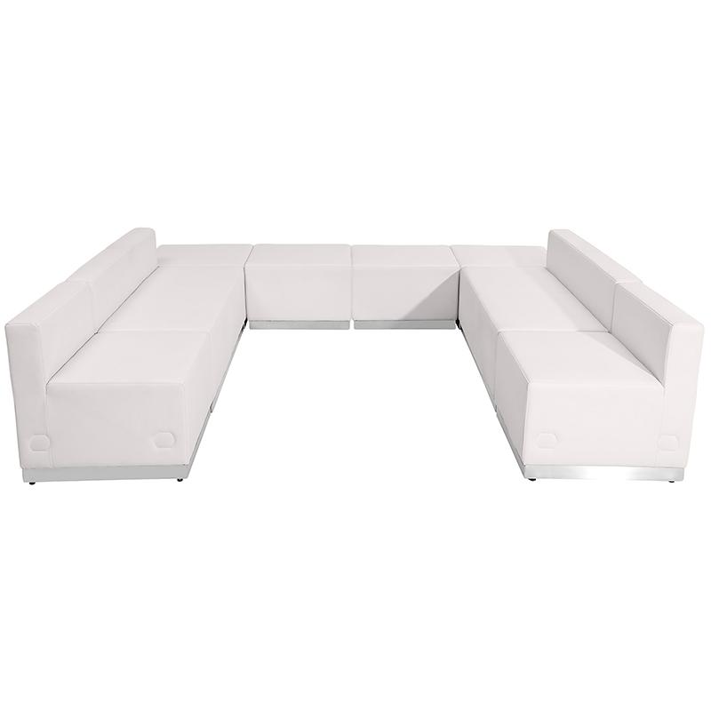 alon series white open u-shaped configuration