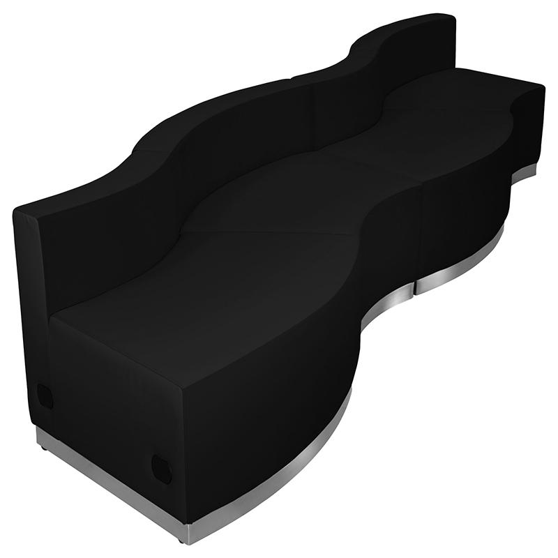 4 piece alon curved reception configuration