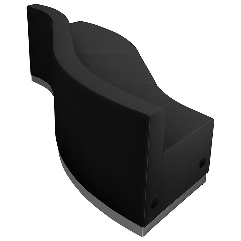 3 piece alon contoured sectional set back view