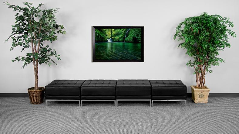 flash furniture 4 piece imagination series ottoman bench