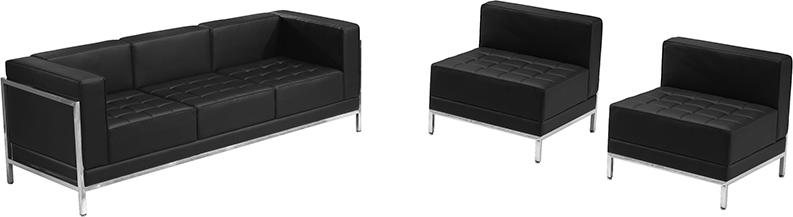 imagination series 3 piece reception furniture set