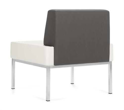 Global Ballara Armless Lounge Chair 9751NA