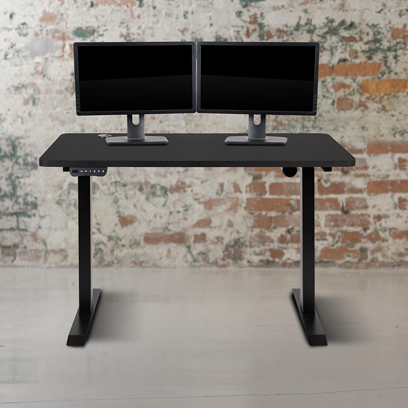 "48"" x 24"" height adjustable electric desk"