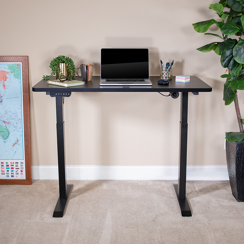 standing height electric desk