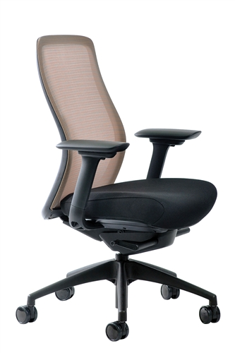 Eurotech Seating Vera Marigold Orange Mesh Back Task Chair