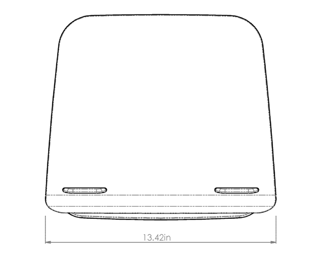esi hana laptop support dimensions - 2