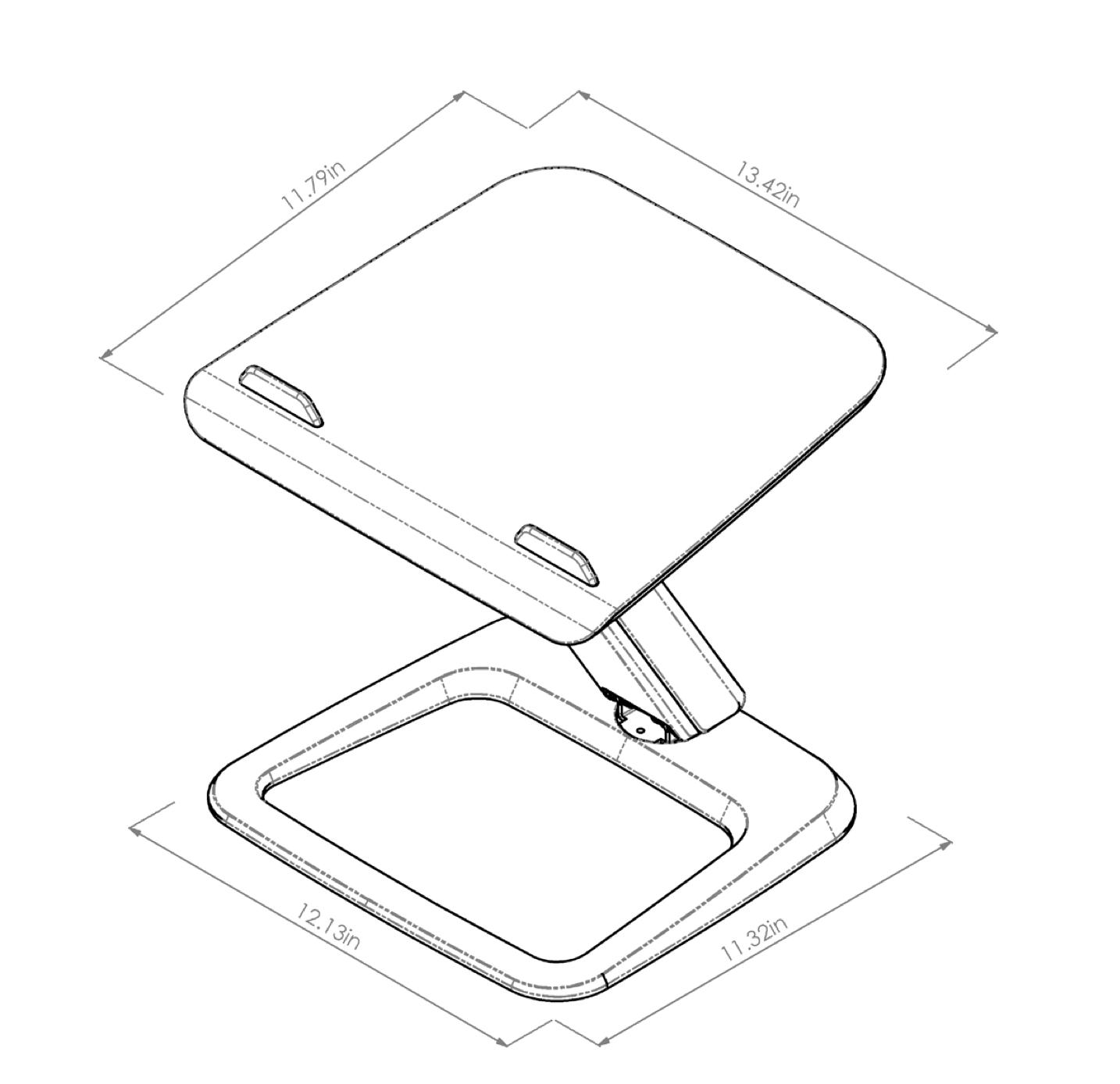 esi hana laptop support dimensions - 4