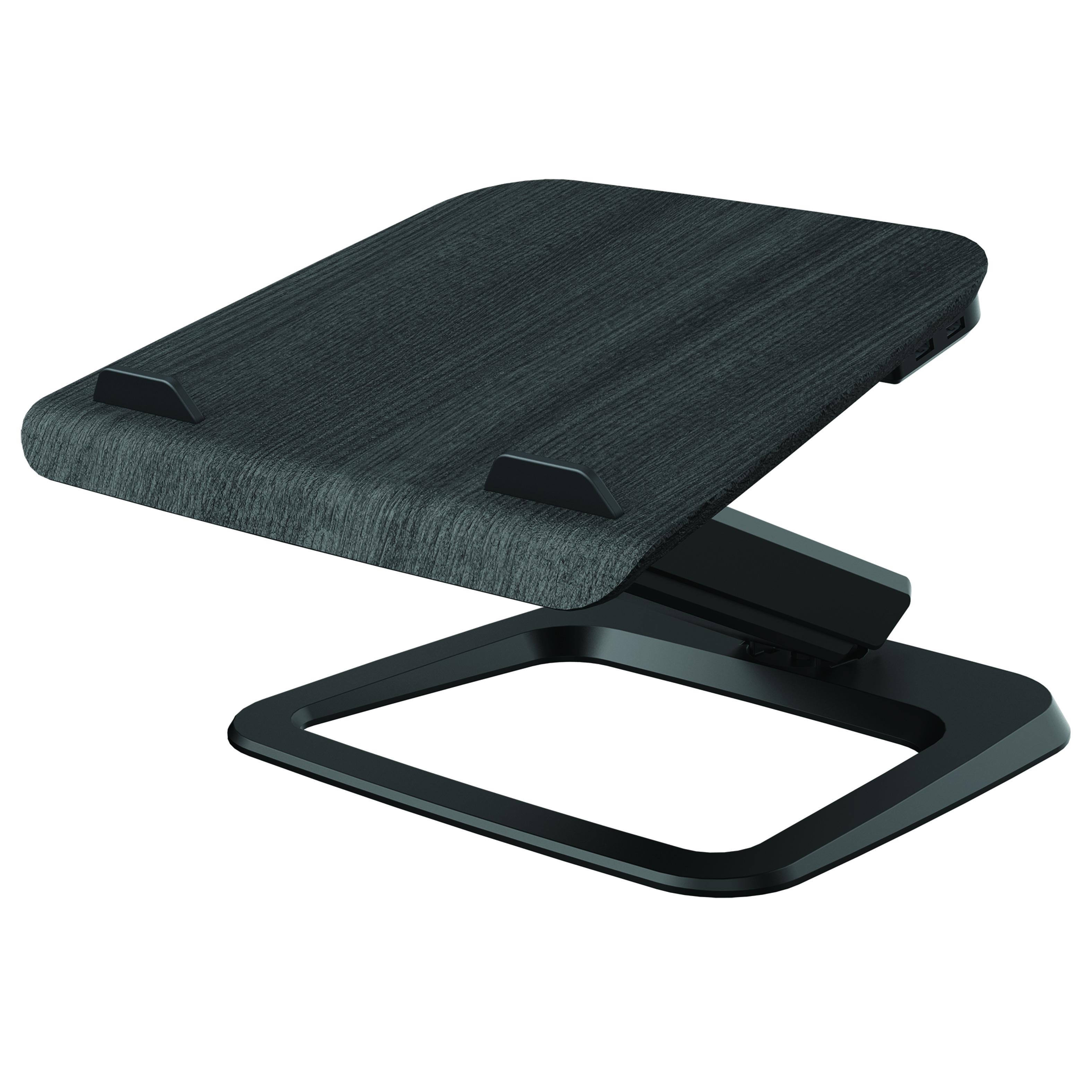 esi hana laptop support in black