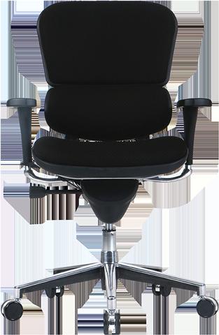 ergohuman fabric office chair