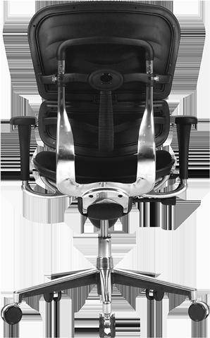 ergohuman fabric office chair back