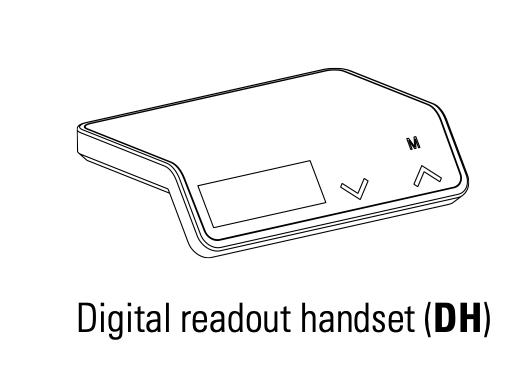 digital readout handset