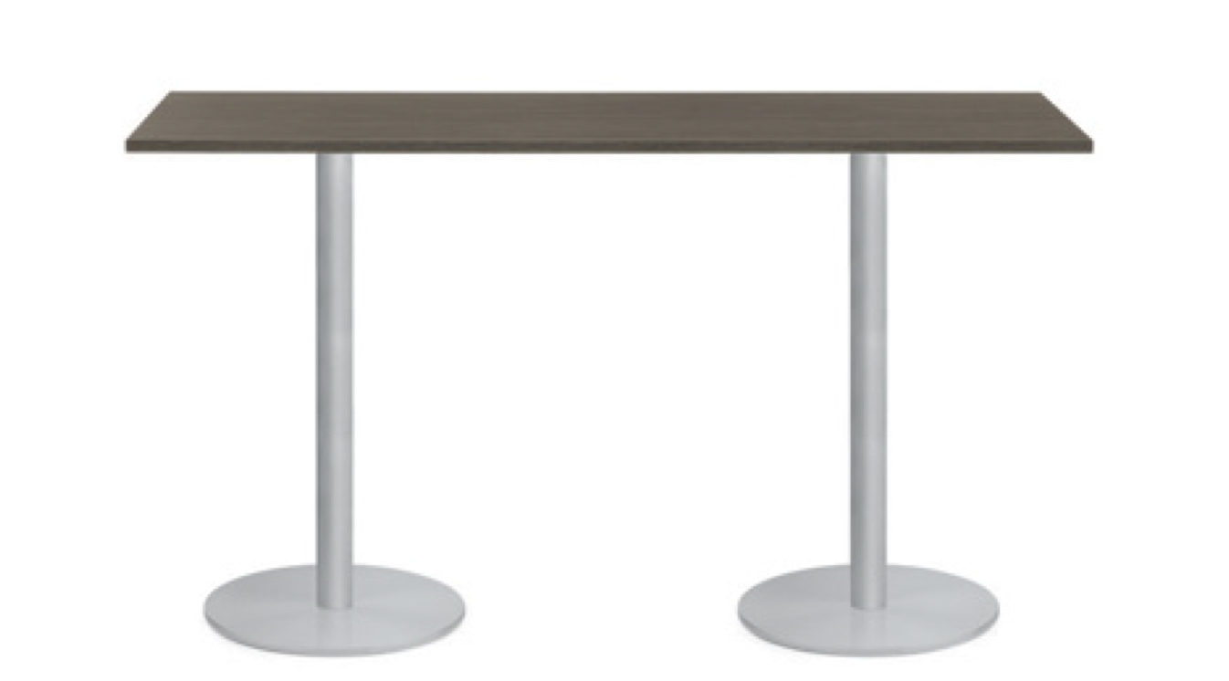swap 6' bar height conference table