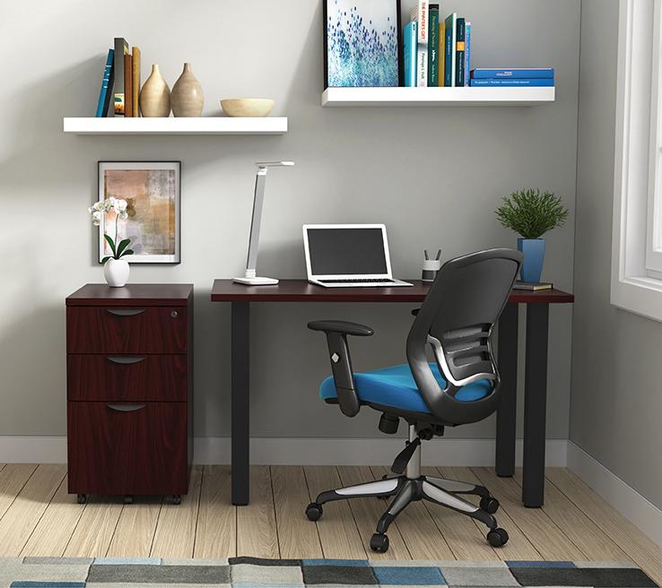 mahogany otg superior laminate writing desk