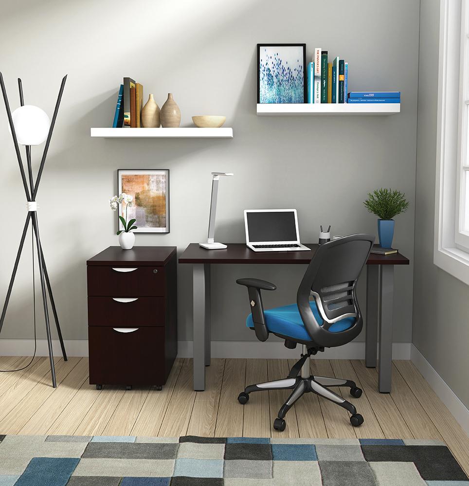 otg small writing desk in espresso