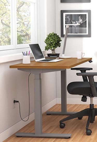 walnut 71 x 30 height adjustable table