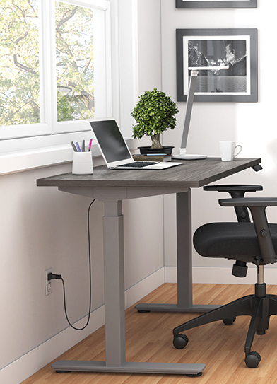 artisan grey 71 x 30 height adjustable table