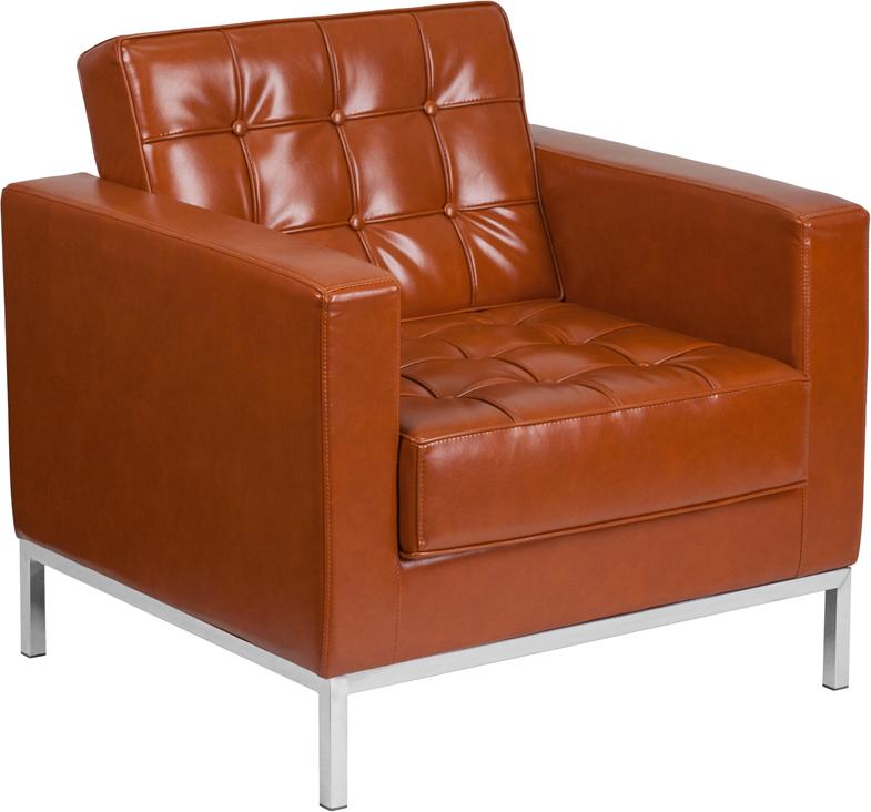 lacey cognac chair
