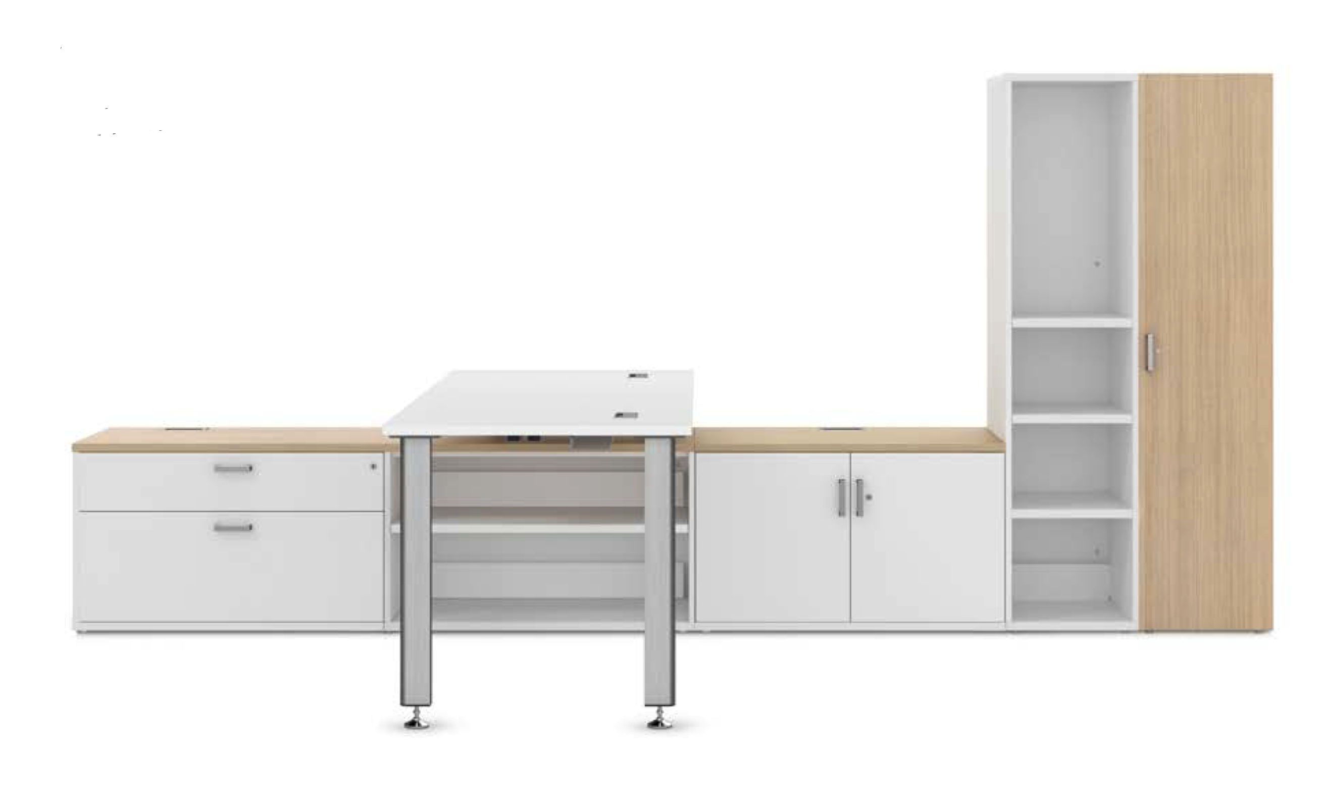 idesk t-shaped workstation