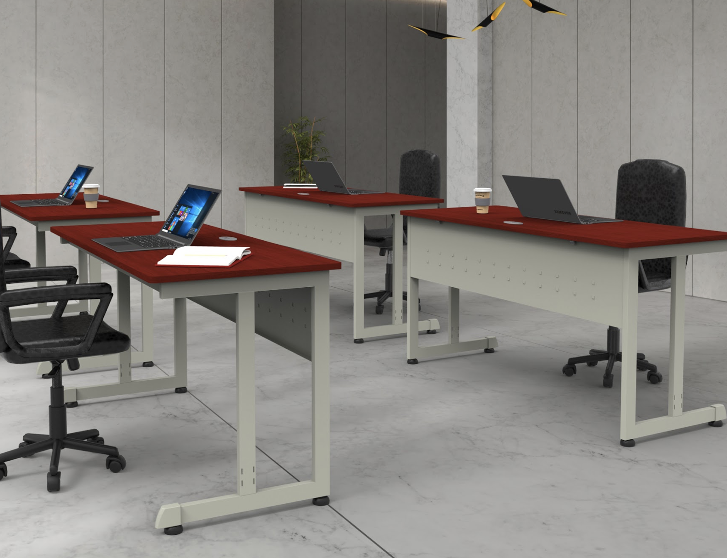 cherry computer tables