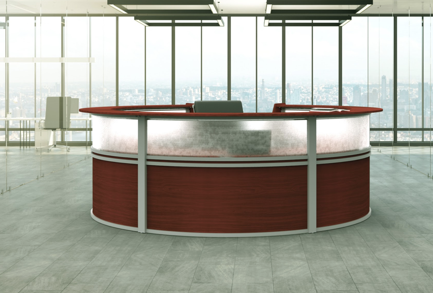 cherry circular reception station outside view