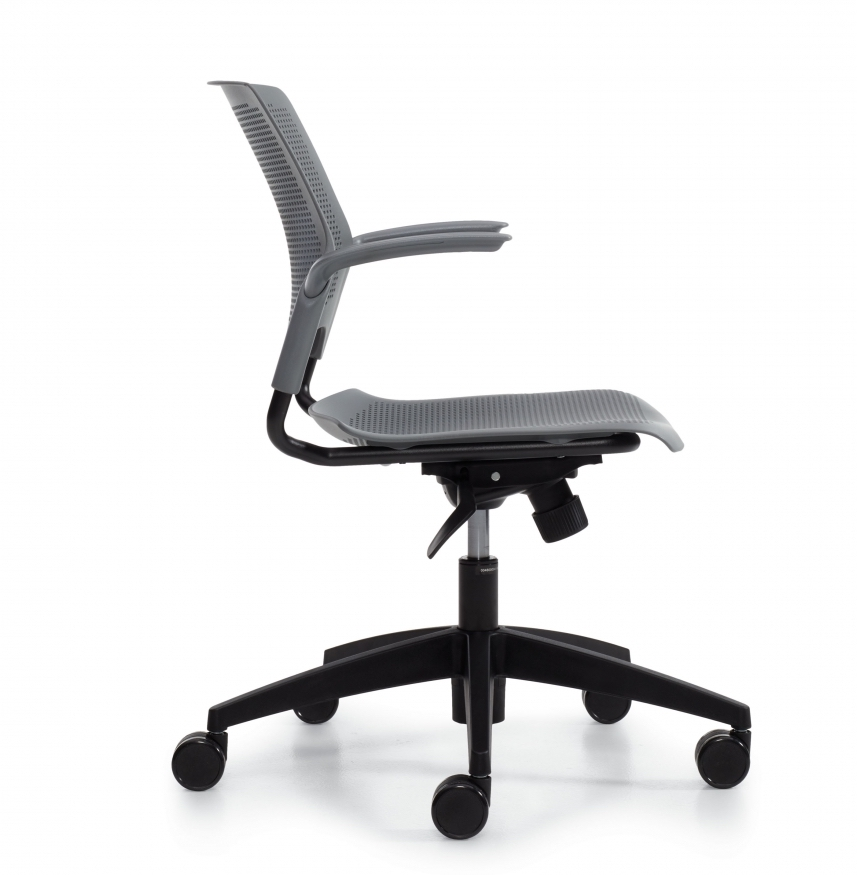 side view of stream chair