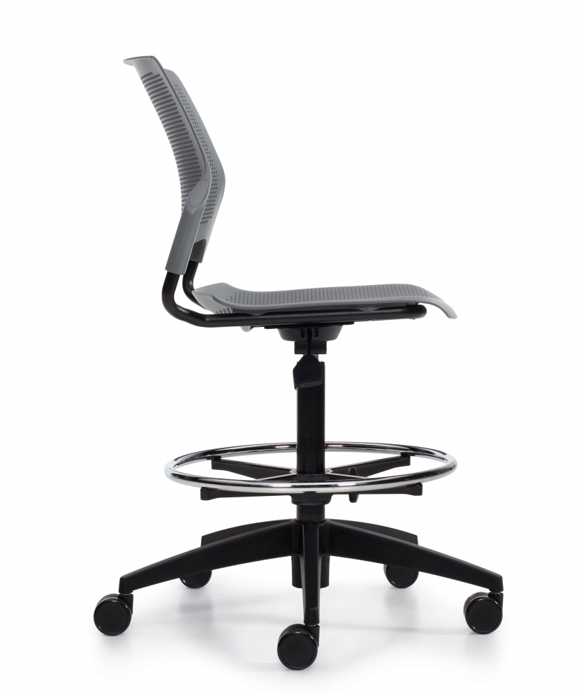 stream armless task stool