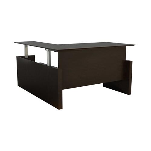 Mayline Medina Height Adjustable L-Desk