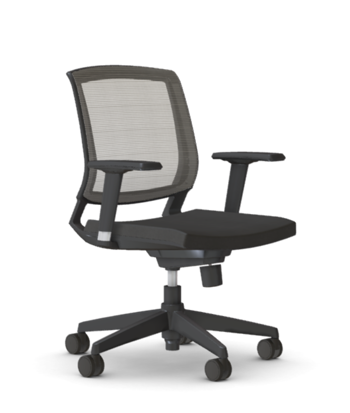 amenity task chair - angled view