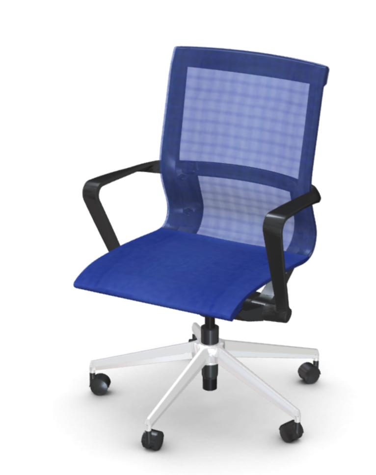 blue friant prov chair