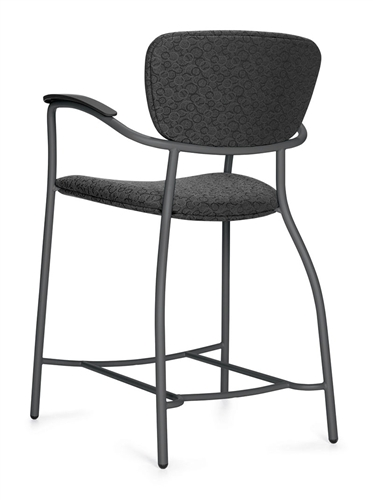 Global Caprice Series Counter Height Stool 3370