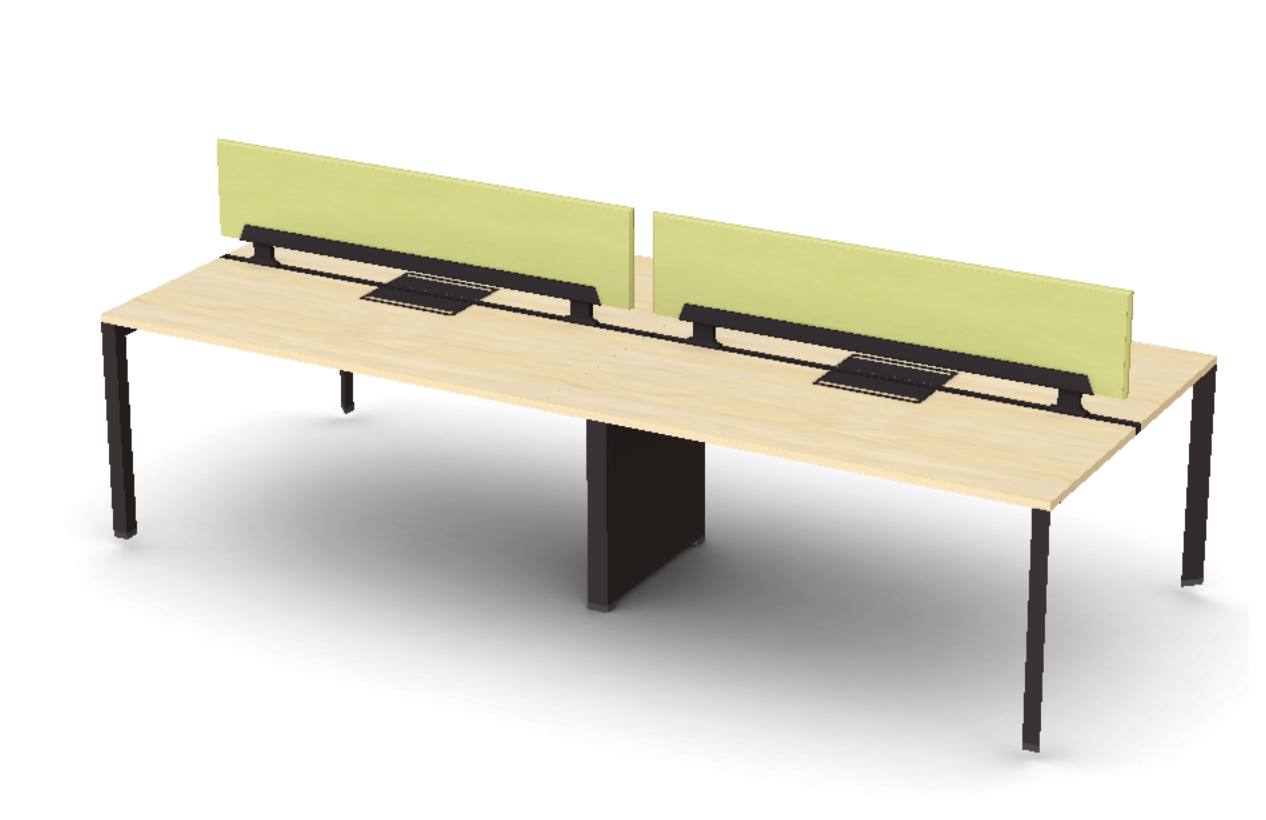 Friant Verity 4 Person Benching Layout FV-4004