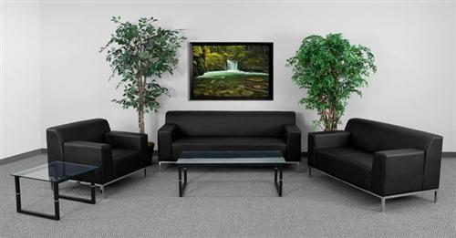 Flash Furniture 3 Piece Definity Series Lounge Furniture Set