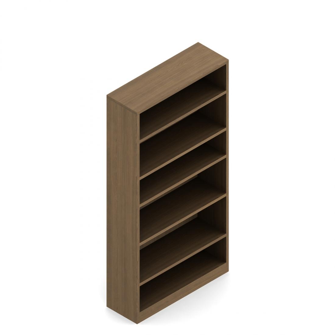 """Global Genoa 72""""H Bookcase GHBC72"""