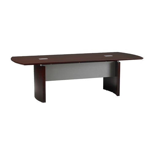 Mayline Napoli 8' Wood Veneer Conference Table NC8 (Available with Power!)