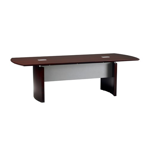 Mayline Napoli 10' Wood Veneer Conference Table NC10 (Available with Power!)