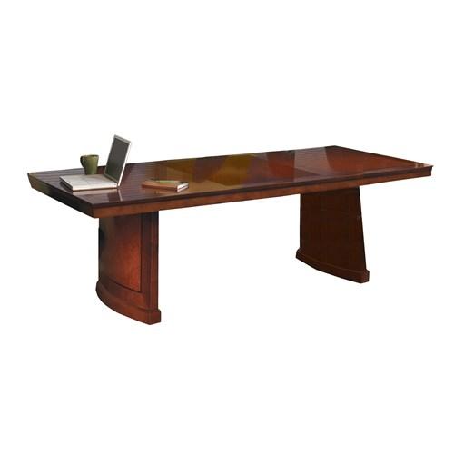 Mayline Sorrento 8' Rectangular Bourbon Cherry Wood Conference Table SC8SCR