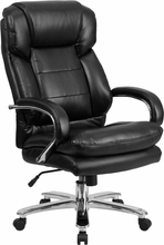 Flash Furniture 500 lb. Capacity Executive Leather Big and Tall Chair