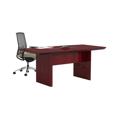 """Mayline Corsica 72"""" Boat Shaped Conference Table CTC72 (Available with Power!)"""