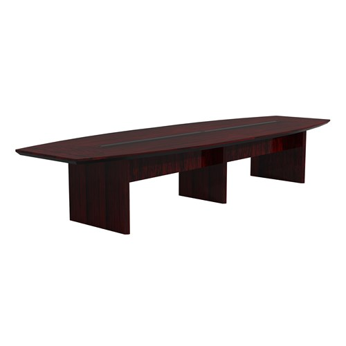 Mayline Corsica 12' Boat Shaped Boardroom Table CMT12