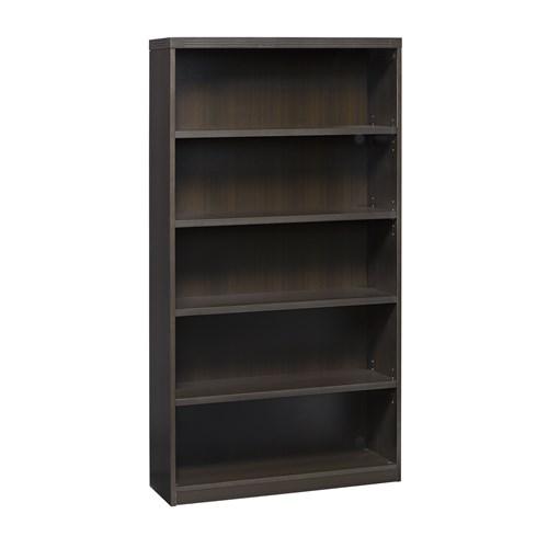Mayline Aberdeen 5 Shelf Bookcase AB5S36