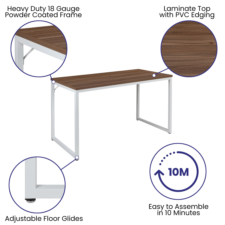 """Flash Furniture Tiverton 47"""" Writing Desk"""