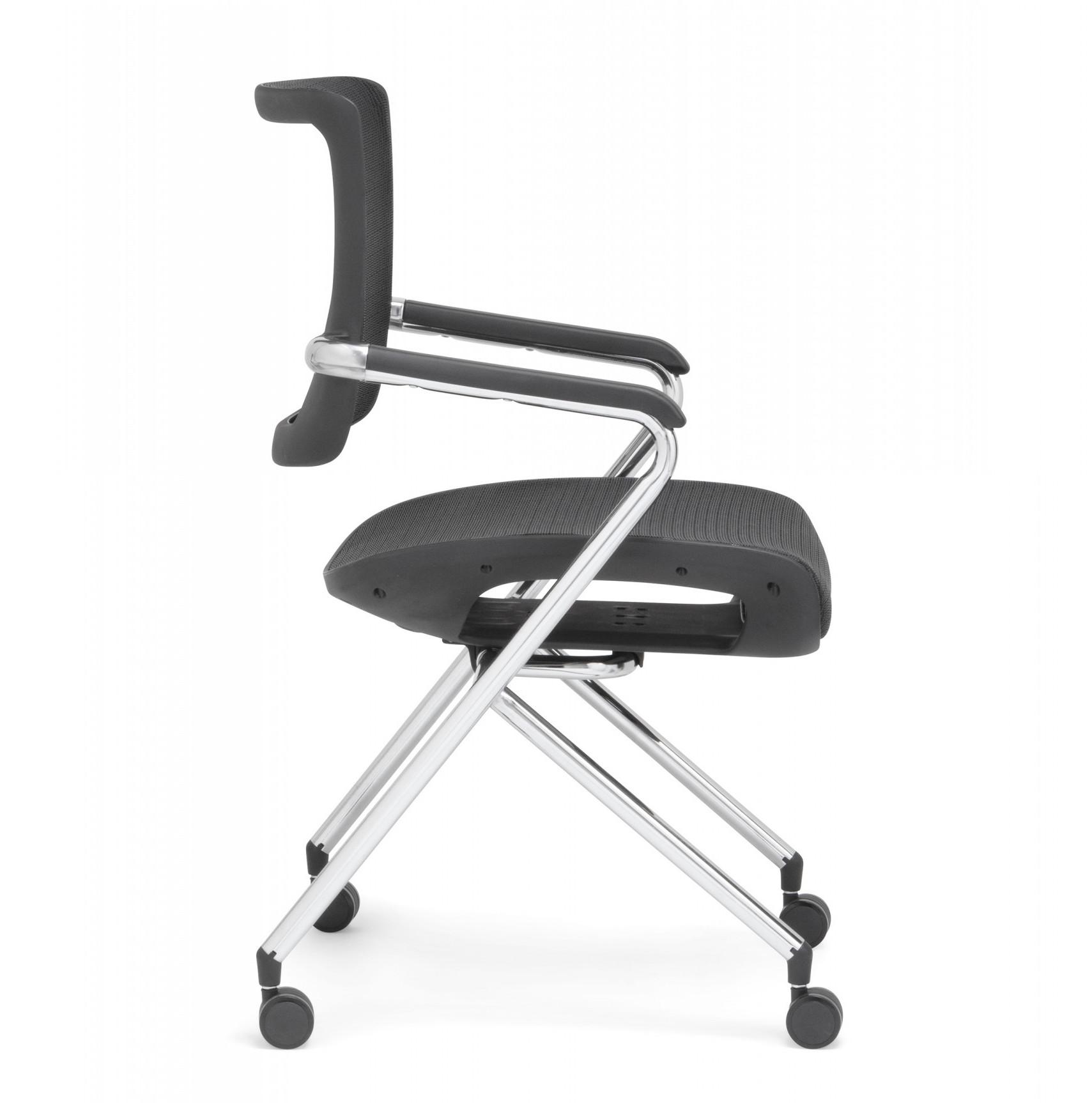 x-chair folding side chair
