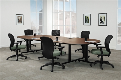 Global ConnecTABLES Modular Boardroom Table Layout CNN501