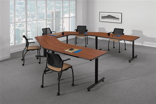 Global ConnecTABLES U Shaped Modular Tables Configuration CNN503
