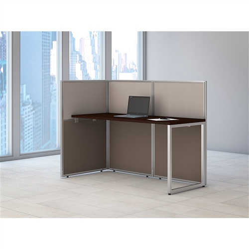 "Bush Easy Office 60"" Privacy Workstation EOD160MR"