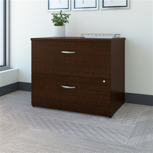 "Bush Easy Office Collection 36"" 2 Drawer Lateral File"
