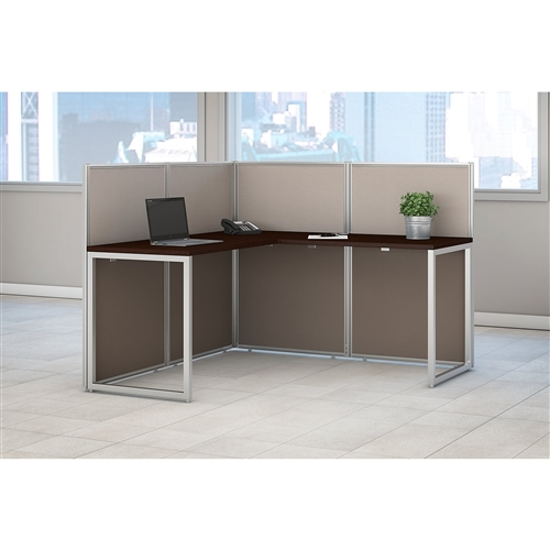 Bush Easy Office L Shaped Cubicle Desk EOD360MR