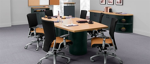 Global Correlation Modern Conference Table