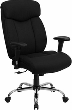 Flash Furniture Big & Tall Office Chair with Arms (350 lb. Capacity)